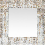 Hornbrook Mother Of Pearl Square Mirror