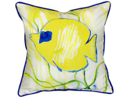 Yellow Tang Pillow