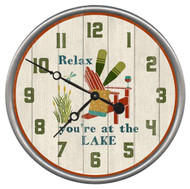Relax Lake Clock - Custom