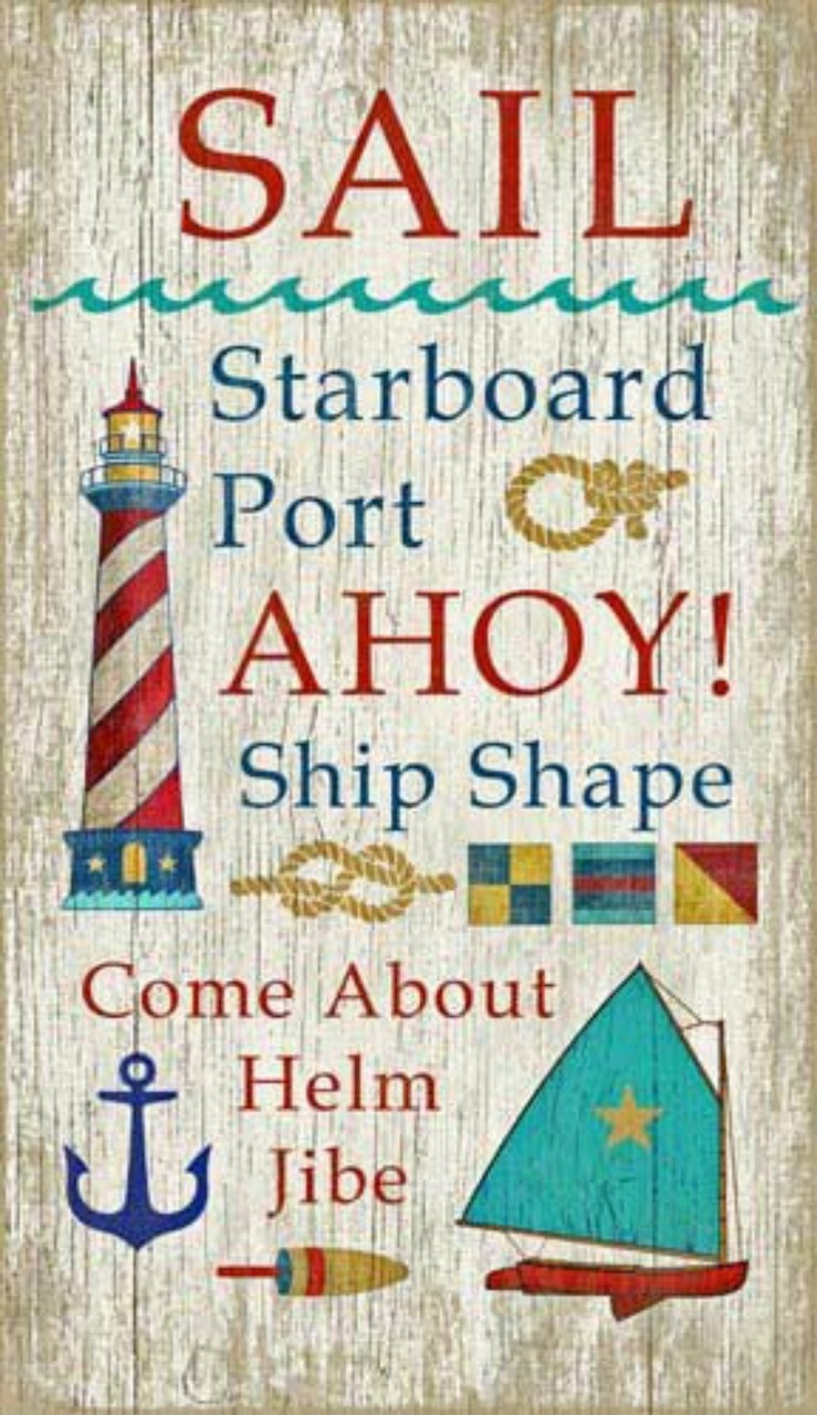 Set Sail Beach House Sign From Suzanne Nicoll