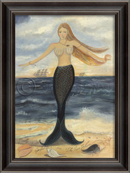 Here at Dawn and Dusk Mermaid Art