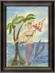 The Captain's Sweetheart Mermaid Art