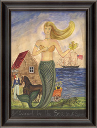 The Mermaid from Sconset by the Sea - Large