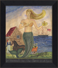 The Mermaid from Sconset by the Sea