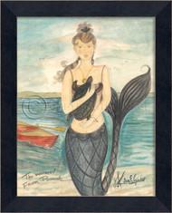 Mermaid from Pocomoke - Mermaid Art