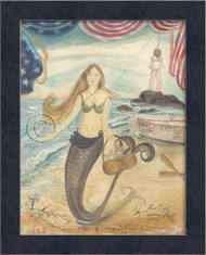 Finding Lasting Treasure - Mermaid Art