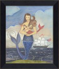 Celebrating Belle - Mermaid Art