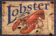 Lobster Vintage Beach Sign