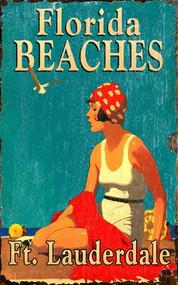 Custom Vintage Beaches Sign