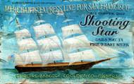 Shooting Star Nautical Home Sign