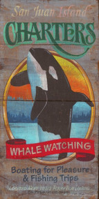 Orca Whale Watching Sign