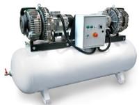 PC5x2/500, Panther Oil Free Mini Air Compressor, 130 Gallon Tank,  55 CFM, 208-240-460V/3Phase