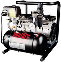 PC90-TC, Panther Oil Free Mini Air Compressor, .93 Gallon Tank, Wobble Piston, 3.25 CFM, 115/1/60