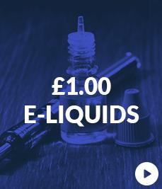 £1 E Liquids