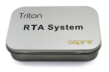 Aspire Triton RTA Kit packaging