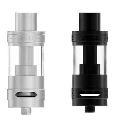 Uwell SE-1 Sub Ohm Tanks In Black & Stainless Steel