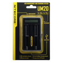 NiteCore UM20 Dual Battery Charger Packaging