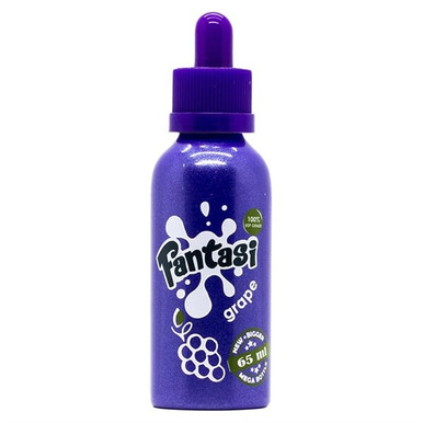 Fantasi Grape E Liquid by Fantasi Only £15.99 (Zero Nicotine)
