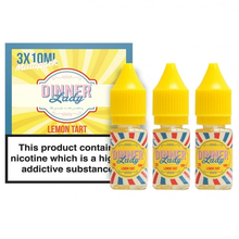 Lemon Tart E Liquid By Dinner Lady 3 x 10ml for only £9.99