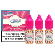 Rice Pudding E Liquid By Dinner Lady 3 x 10ml for only £9.99