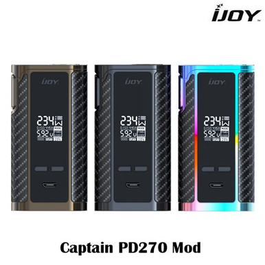IJOY Captain PD270 Box Mod inc Batteries inc Free Delivery Colours