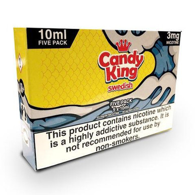 Swedish E Liquid 5 x 10ml By Candy King  £15.79
