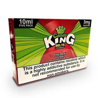 Strawberry Belts E Liquid 5 x 10ml By Candy King £15.79