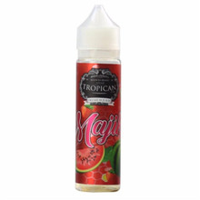 Majika Short Fill E Liquid by Tropican Juice Only £14.99 (Zero Nicotine & Free Nicotine Shot)