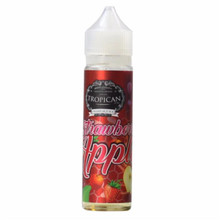 Strawberry Apple Short Fill E Liquid by Tropican Juice Only £14.99 (Zero Nicotine & Free Nicotine Shot)