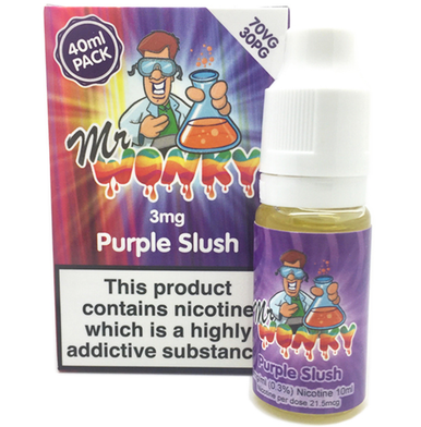 Purple Slush Eliquid By Mr Wonky 4 x 10ml for only £12.89