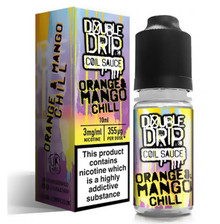 Orange & Mango Chill E Liquid By Double Drip Coil Sauce 10ml