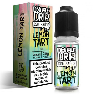Lemon Tart E Liquid By Double Drip Coil Sauce 10ml