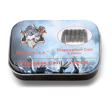 Demon Killer Prebuilt Wire Clapcetion Coil 0.35ohm 10pcs