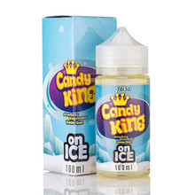 Strawberry Watermelon Bubblegum On Ice Short Fill E Liquid (120ml with 2 x 10ml nicotine shots to make 3mg) by Candy King Only £19.99 (Zero Nicotine)