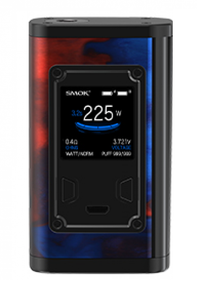 Smok Majesty 225w Resin Vape Mod Blue Red