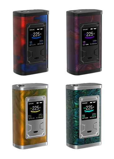 Smok Majesty 225w Resin Vape Mod Colours