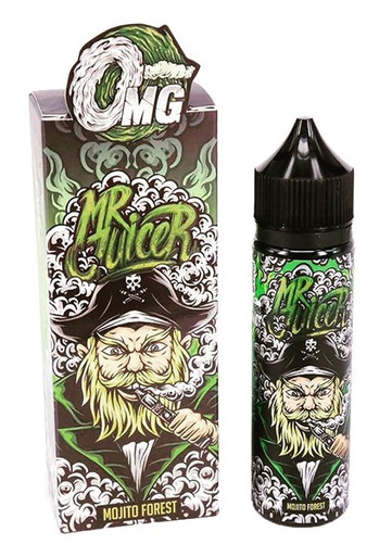 Mojito Forest 50ml E Liquid (60ml with 1 x 10ml nicotine shots to make 3mg) by Mr Juicer Only £12.99 (FREE NICOTINE SHOT)