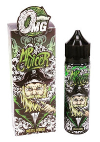 Mojito Forest 50ml E Liquid (60ml with 1 x 10ml nicotine shots to make 3mg) by Mr Juicer Only £14.99 (FREE NICOTINE SHOT)