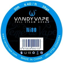 Vandy Vape Pure Ni80 Wire 28ga 30ft