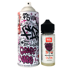 Grape Vape Far Eliquid 100ml (120ml with 2 x 10ml nicotine shots to make 3mg)  by Elements E Liquids Only £25.99 (FREE NICOTINE SHOTS)