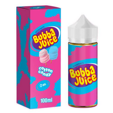 Cotton Candy Bubba Juice by Juice Man USA Only £17.99(Zero Nicotine)