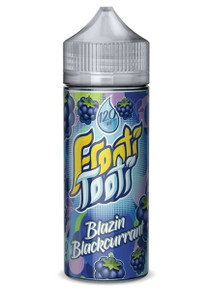 Blazin Blackcurrant E Liquid 100ml Shortfill (120ml with 2 x 10ml nicotine shots to make 3mg) by Frooti Tooti E Liquids Only £12.99 (FREE NICOTINE SHOTS)
