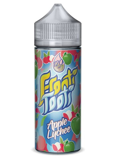 Apple Lychee E Liquid 100ml Shortfill (120ml with 2 x 10ml nicotine shots to make 3mg) by Frooti Tooti E Liquids Only £12.99 (FREE NICOTINE SHOTS)
