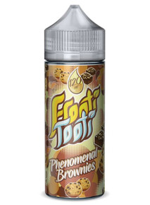 Phenomenal Brownies E Liquid 100ml Shortfill (120ml with 2 x 10ml nicotine shots to make 3mg) by Frooti Tooti E Liquids Only £12.99 (FREE NICOTINE SHOTS)