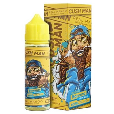 Banana Mango Cush Man Shortfill E Liquid 50ml by Nasty Juice