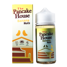 Banana Nuts E Liquid 100ml By The Pancake House (120ml of e liquid with 2 x 10ml nicotine shots to make 3mg)