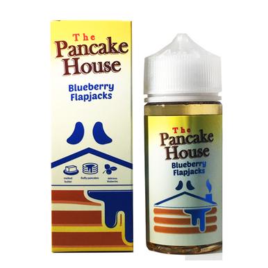 Blueberry Flapjacks E Liquid 100ml By The Pancake House (120ml of e liquid with 2 x 10ml nicotine shots to make 3mg)