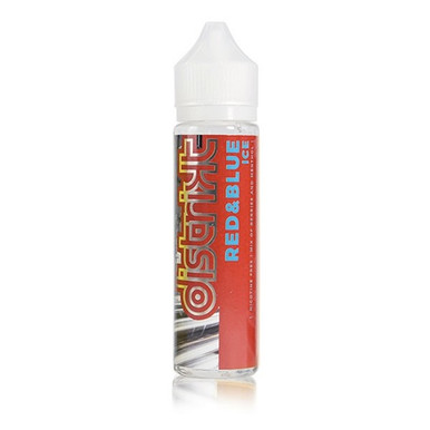 Red & Blue Ice E Liquid 50ml Shortfill (60ml Shortfill with 1 x 10ml nicotine shots to make 3mg) By Distrikt
