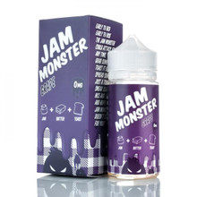Grape Jam Monster Eliquid 100ml by Fresh Juice Co Only £24.99 (Zero Nicotine & Free Nic Shots)