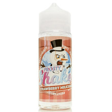 Frosty Shakes Strawberry Milkshake E Liquid 100ml by Dr Frost (Zero Nicotine & Free Nic Shots to make 120ml/3mg)